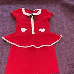 Mrs. Claus Girls Dress